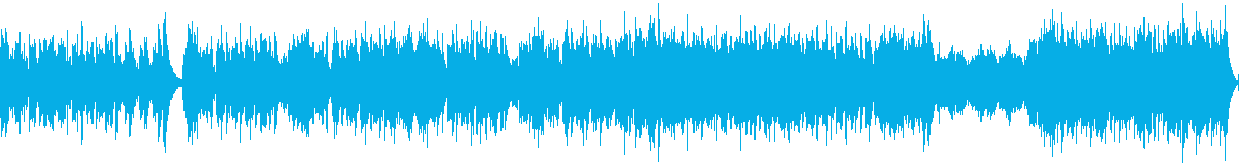 ミステリアスな舞踏会のテーマ(ループ)の再生済みの波形