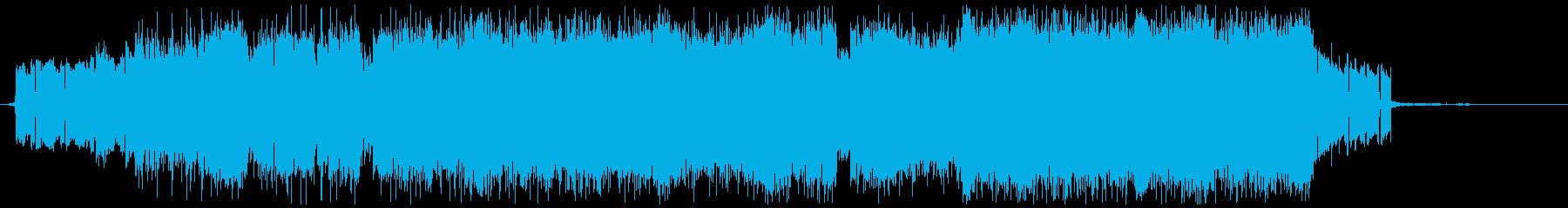 スローブルーの再生済みの波形