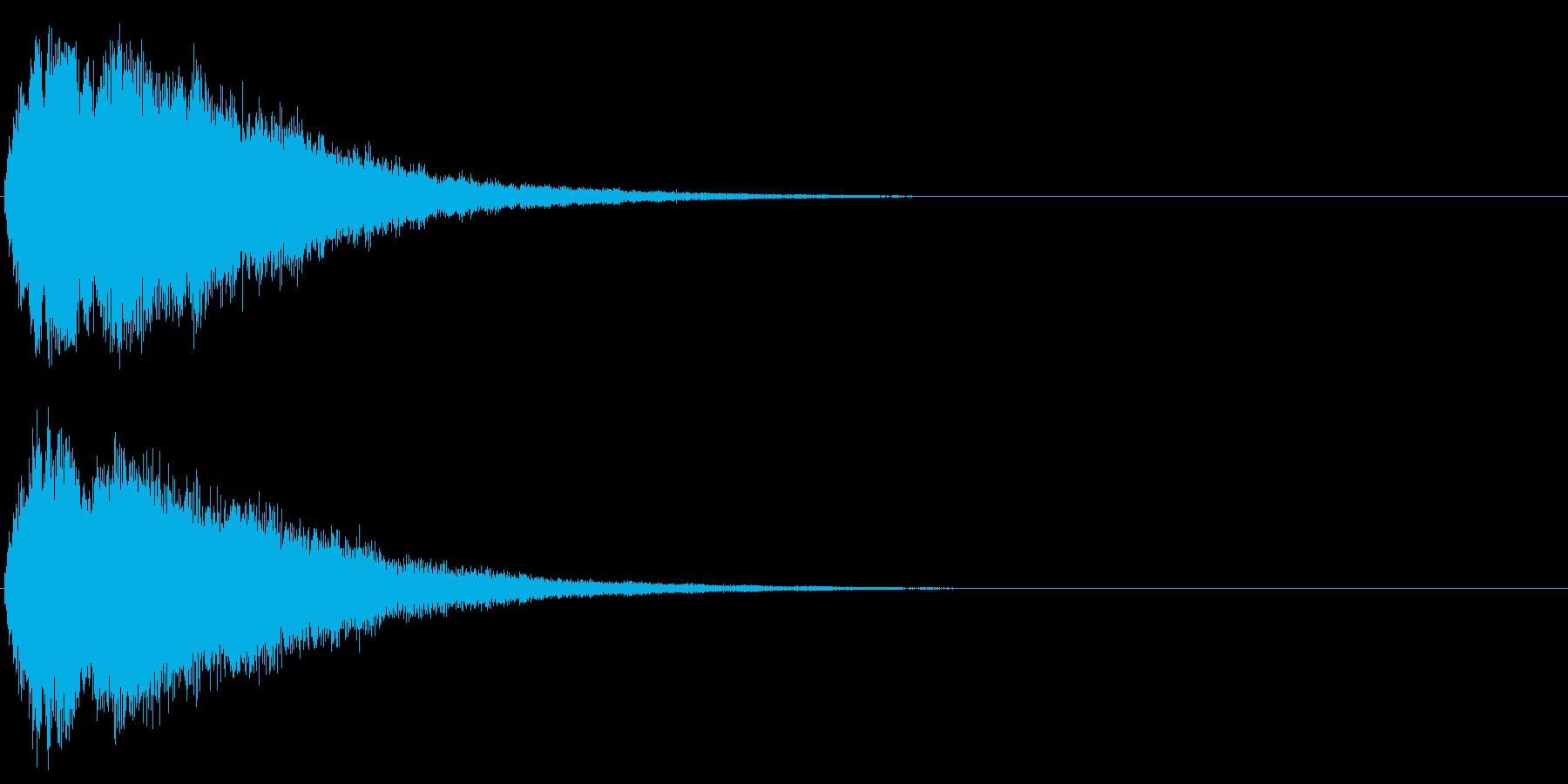 キラキラ☆ピキーン!(星の輝きや魔法)7の再生済みの波形