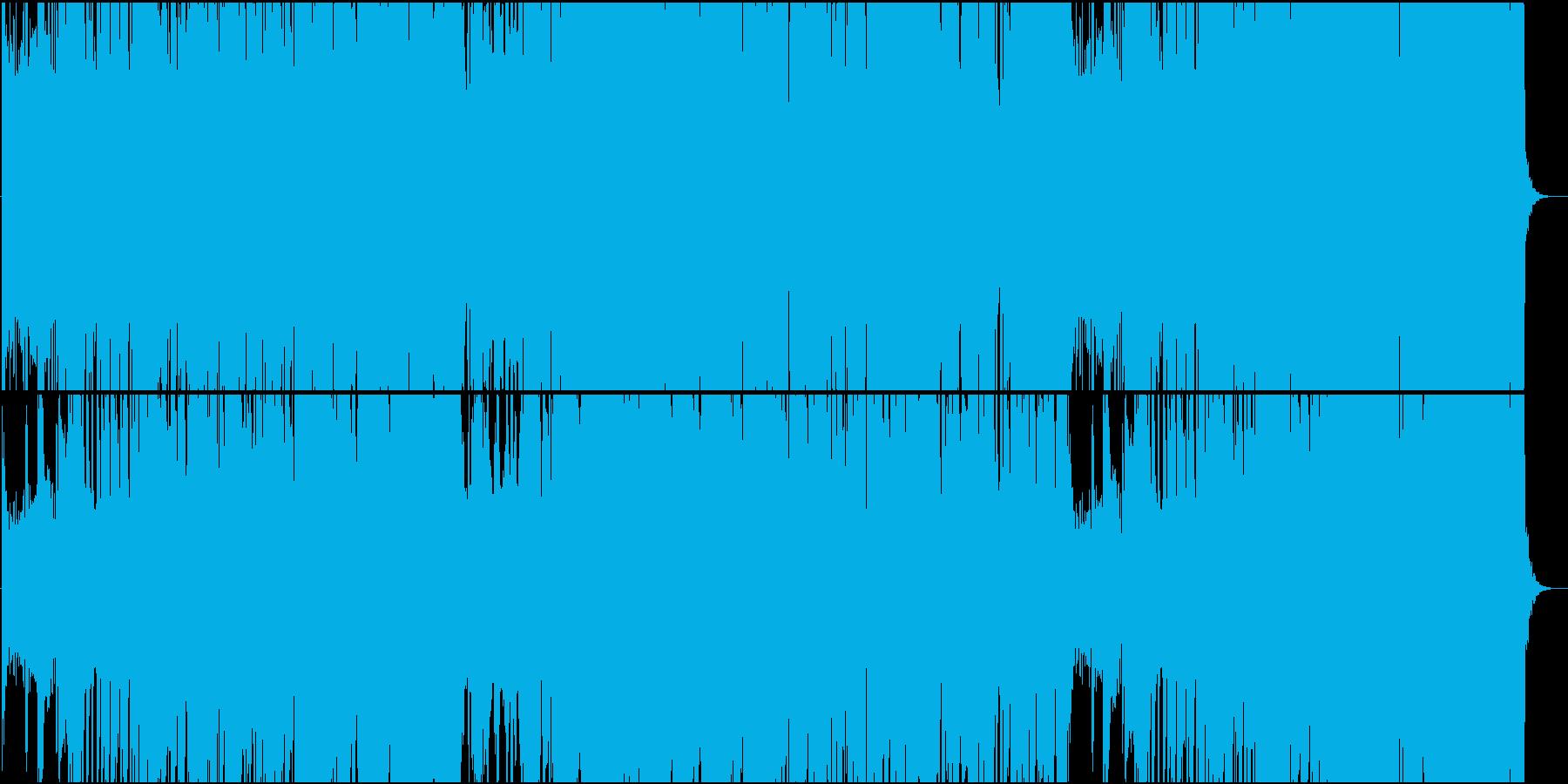 ブルース色が強いヘビーなカントリー楽曲の再生済みの波形