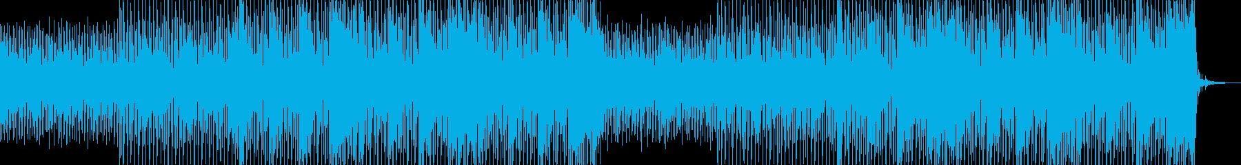 企業VP向け、爽やかポップ4つ打ち7-1の再生済みの波形