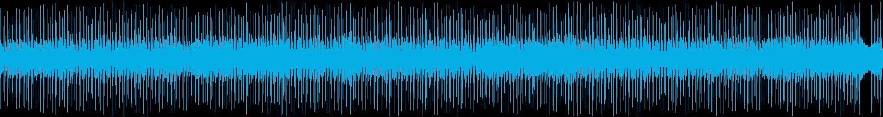 ピアノとバイオリンの日常系BGMの再生済みの波形
