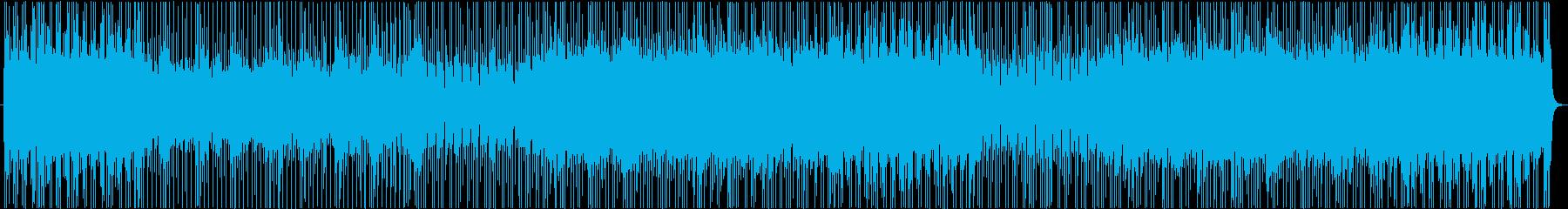 明るくポップで元気なバンドサウンドの再生済みの波形