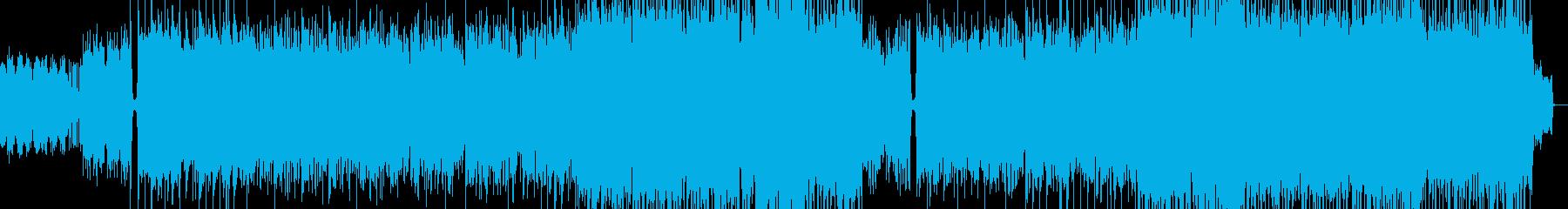 未来の青空のイメージの再生済みの波形