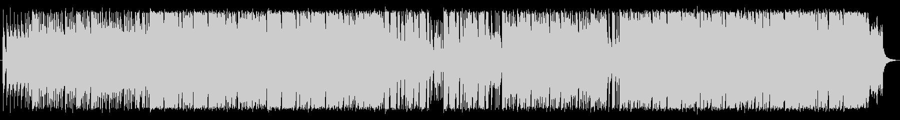 琴を使った和風ロックの未再生の波形