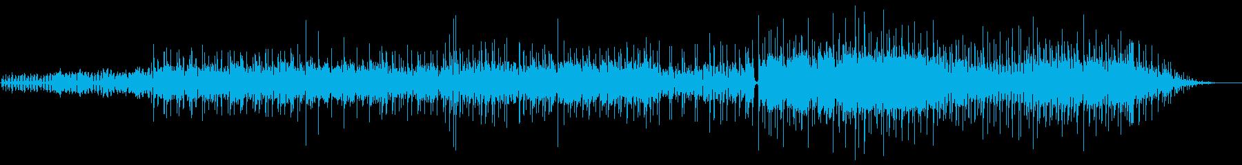 Jazzyな雰囲気のトリップソングの再生済みの波形