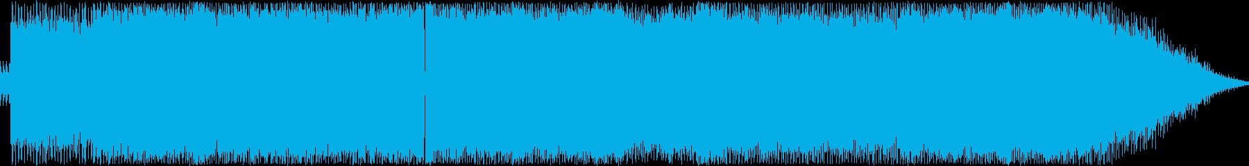 疾走感が心地よい懐かしいHRサウンドの再生済みの波形