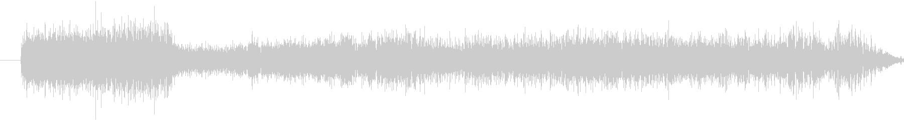ラジオスキャンレーザーパニングウーシュの未再生の波形