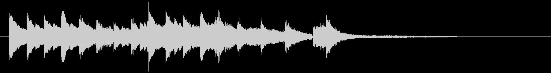 ジングル・リラックス・エンディング4の未再生の波形
