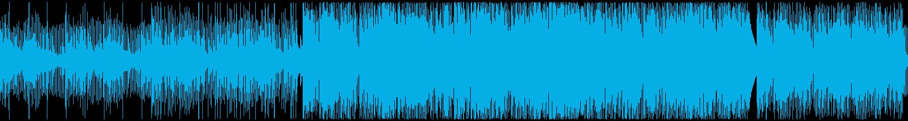 【WEBや店舗に】おしゃれなダウンテンポの再生済みの波形