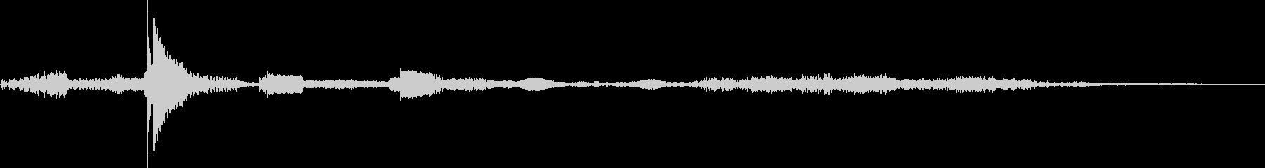 コンピューターボタンを押して確認1の未再生の波形