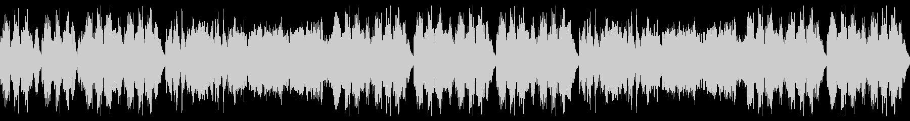泣きのピアノの幻想的なBGMです。の未再生の波形