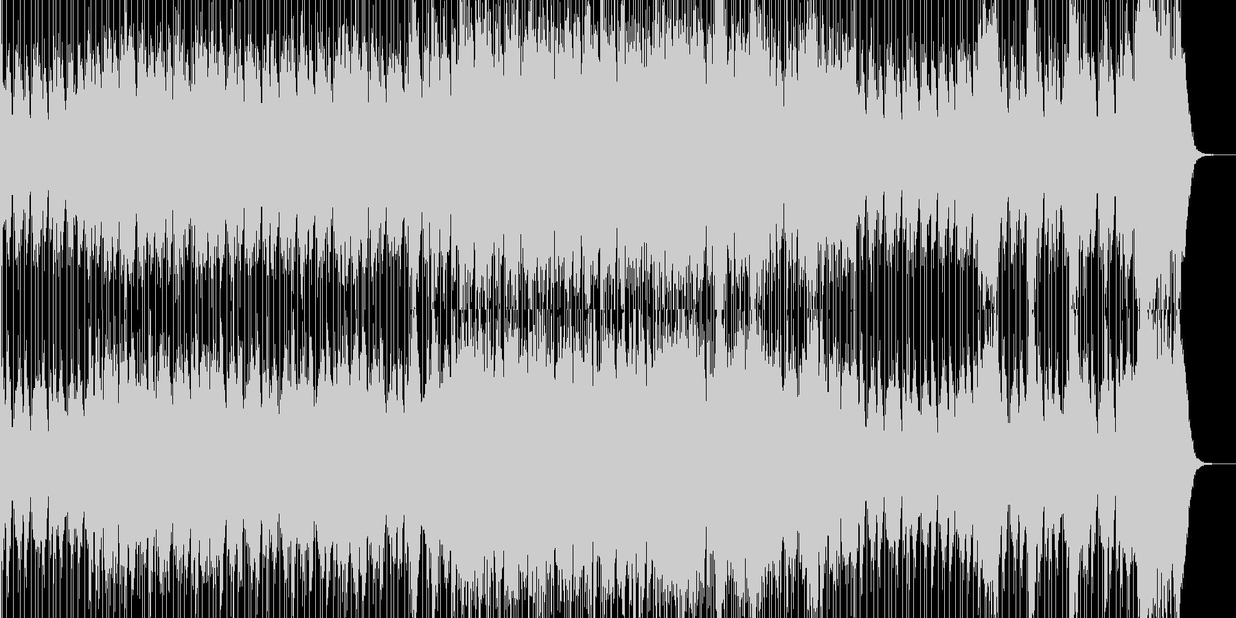 戦いの太鼓 ティンパニと不協和音の未再生の波形