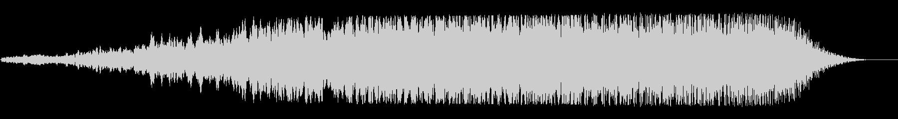 宇宙船通過(高音・尻上り・クリアー音質)の未再生の波形