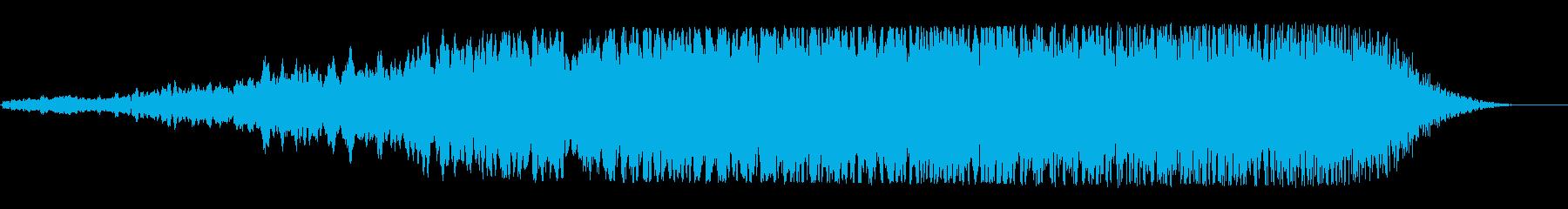 宇宙船通過(高音・尻上り・クリアー音質)の再生済みの波形