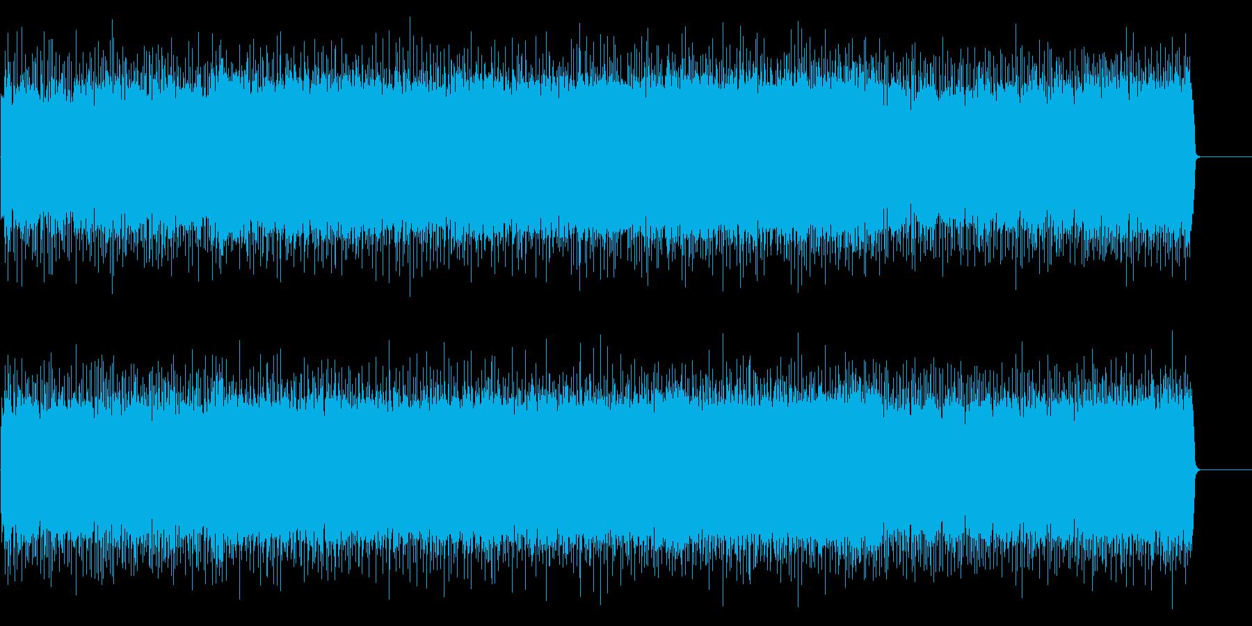 激しい愛の様に情熱的な歌謡曲風の曲の再生済みの波形