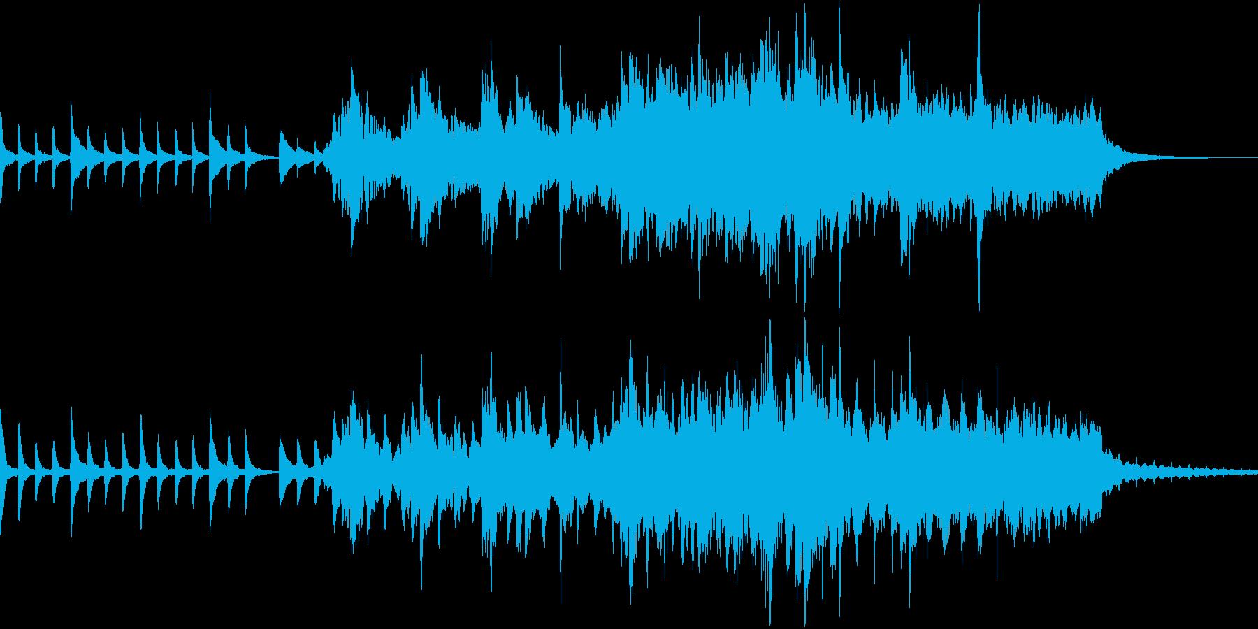 卒業制作アニメーションBGMコンテスト…の再生済みの波形