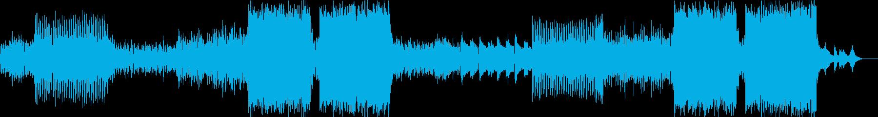 疾走感溢れるhappyなEDM の再生済みの波形
