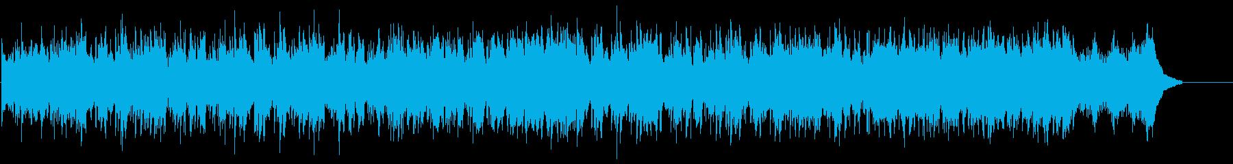 フュージョン風味のサウンドの再生済みの波形