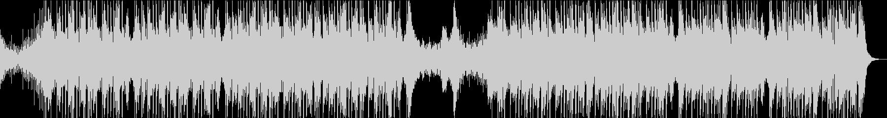 ダークな雰囲気のダブステップの未再生の波形