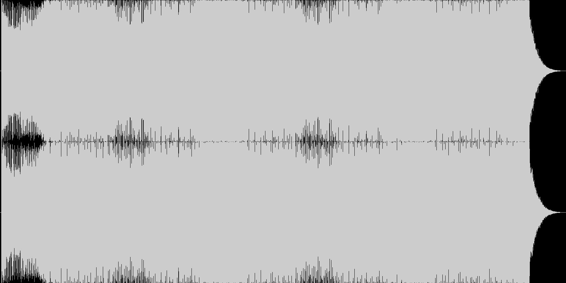 EDM1☆ド派手なクラブミュージック☆の未再生の波形