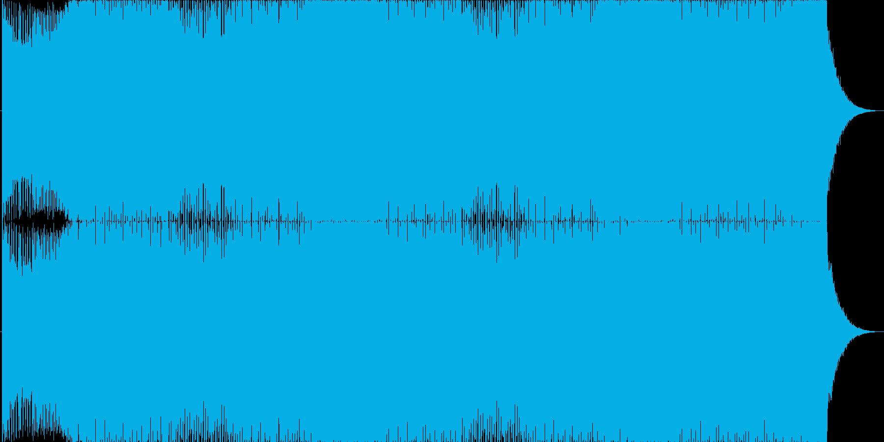 EDM1☆ド派手なクラブミュージック☆の再生済みの波形