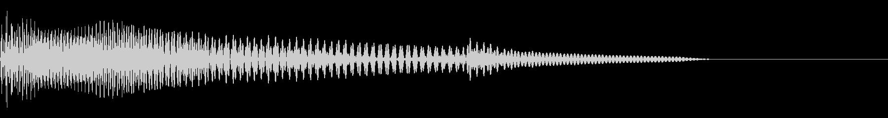 ベース/ドゥーン/ネックスライド/A05の未再生の波形