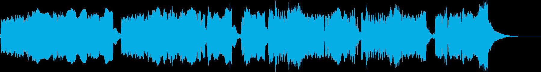 尺八と琴の調べ:凛とした澄んだ空気の再生済みの波形