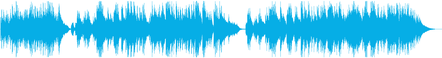 やわらかく高級なピアノサウンドの再生済みの波形