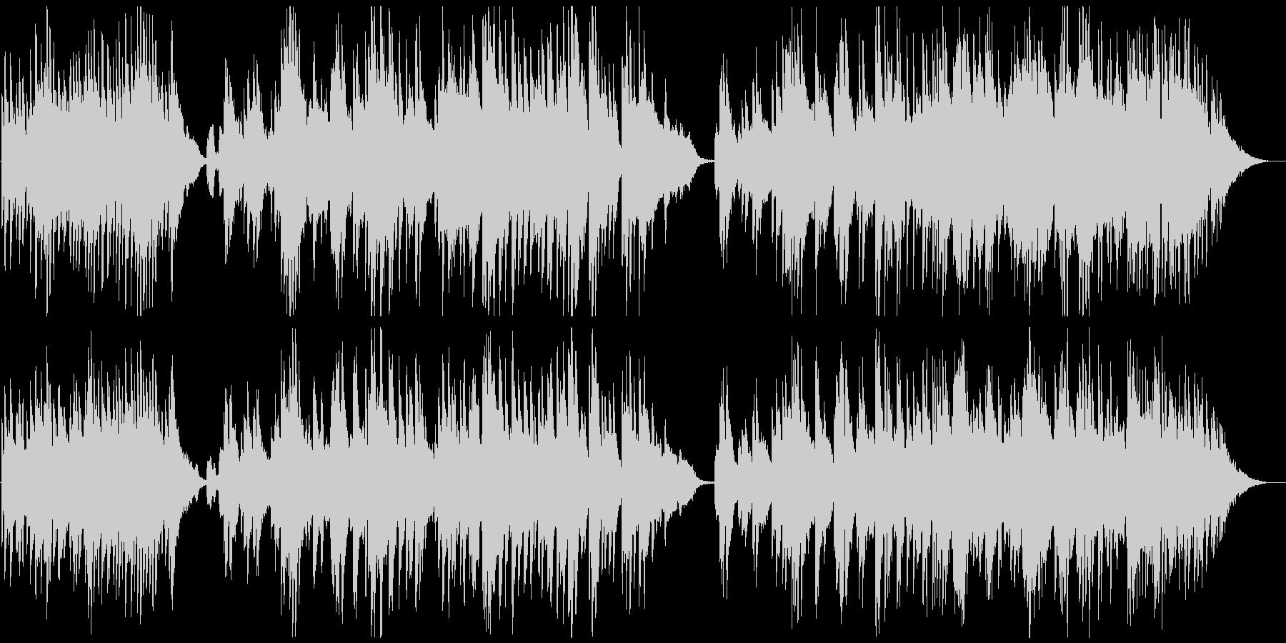 やわらかく高級なピアノサウンドの未再生の波形