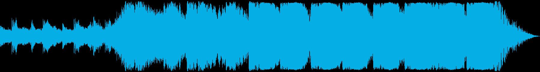 感情的な高揚-(ショートバージョン)の再生済みの波形