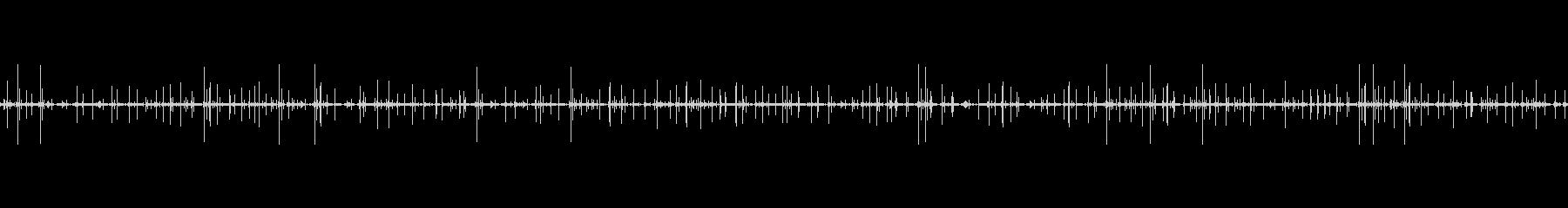 レコードノイズ Lofi ヴァイナル08の未再生の波形