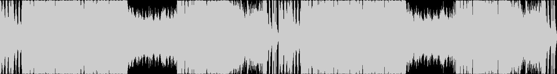 ホラー:亡霊の演奏会:クラシック風の未再生の波形