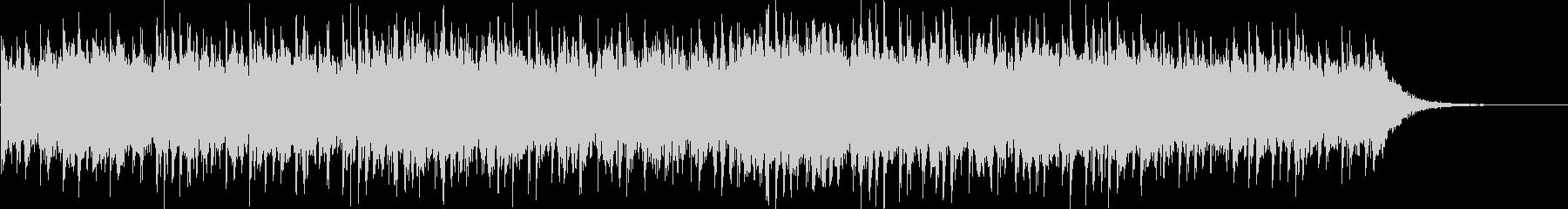 ピアノのメロディーとベル、そして簡...の未再生の波形