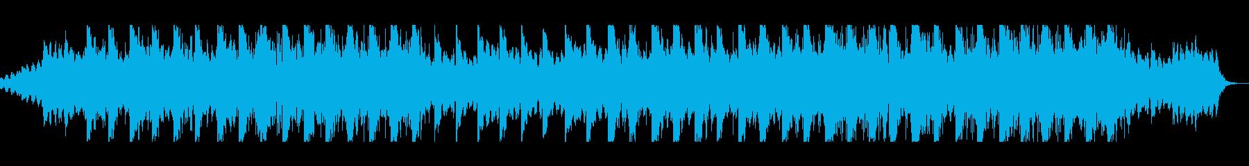 水流が気持ちいいローファイアンビエントの再生済みの波形