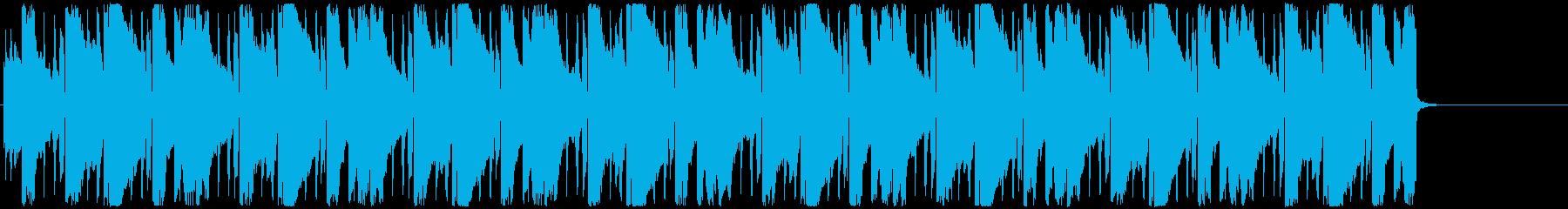 エレピを使ったお洒落なポップミュージックの再生済みの波形
