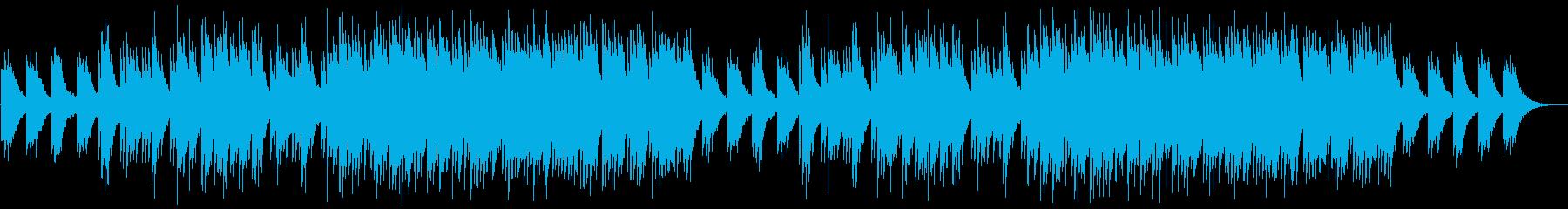 静かで清らかな和風ウエディングBGMの再生済みの波形