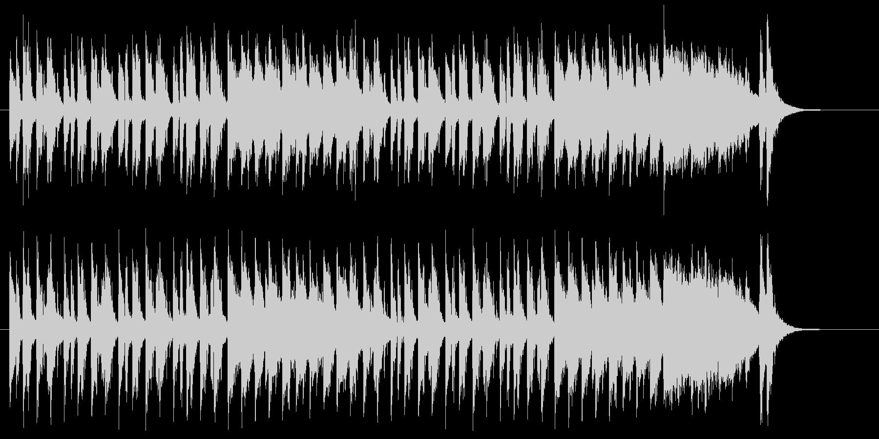 軽快なストリングスのサンバの未再生の波形