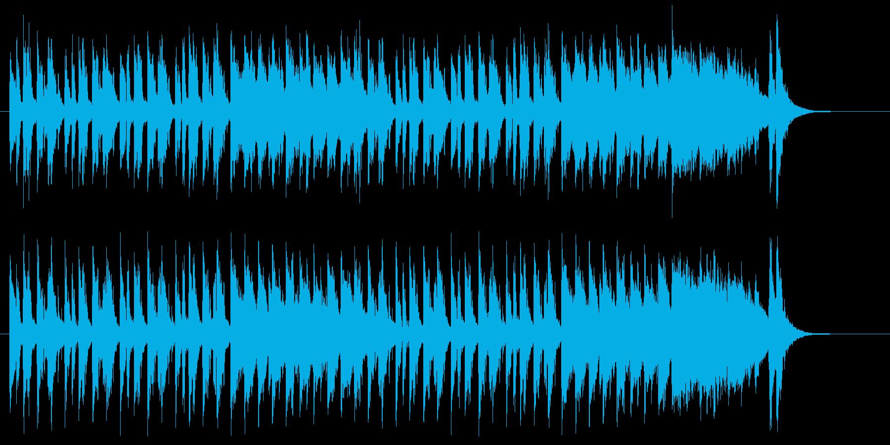 軽快なストリングスのサンバの再生済みの波形