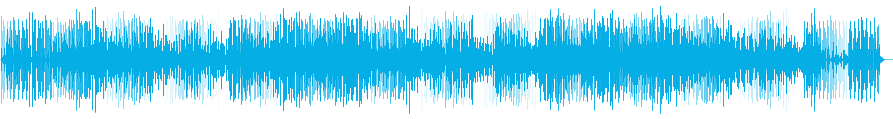 Light and pretty pop music's reproduced waveform