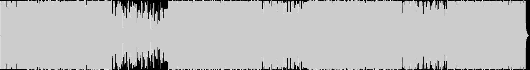 闇の電子音楽/ボーカル/ダークで重厚感の未再生の波形