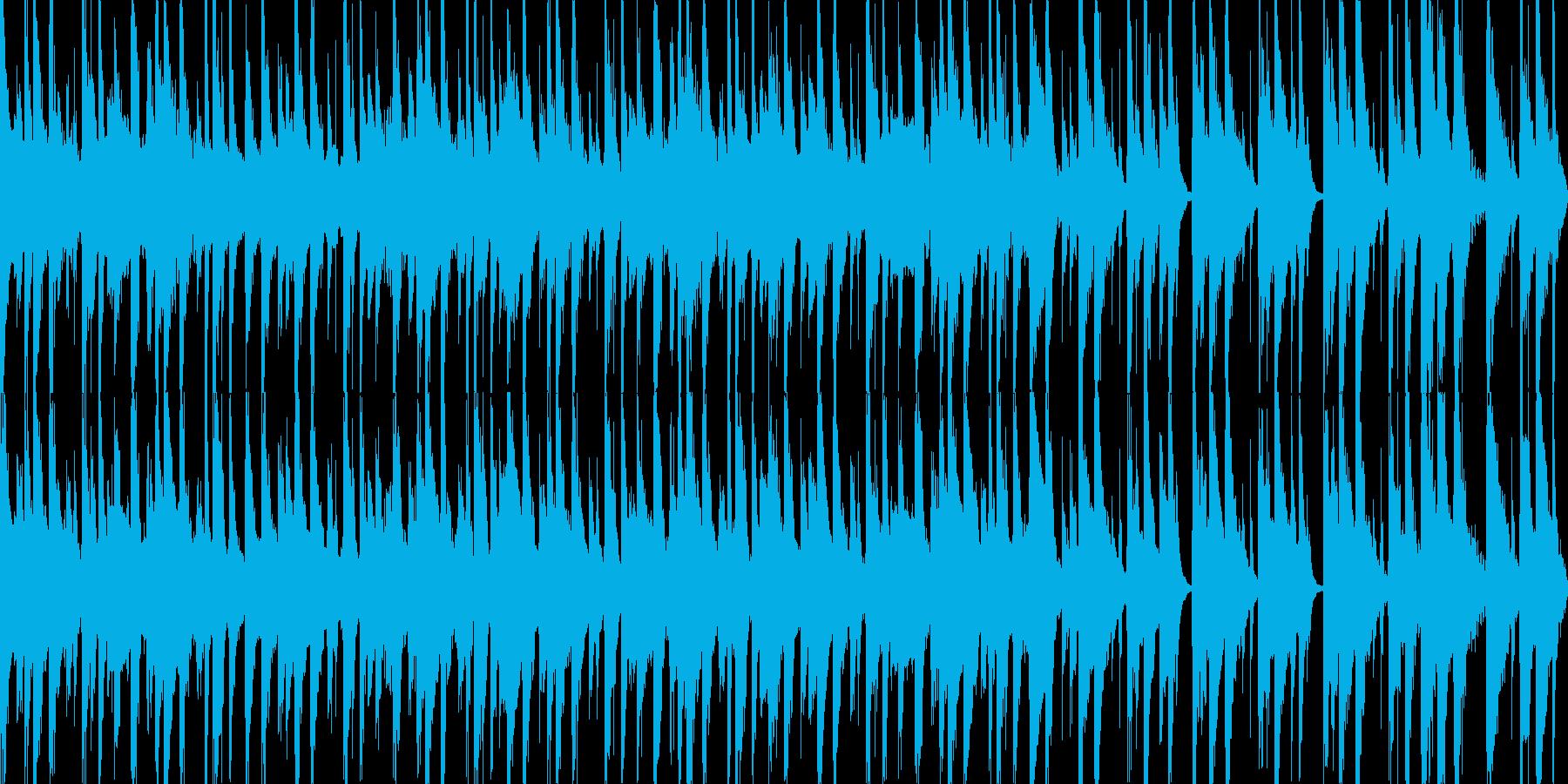 さすらいのBGMの再生済みの波形