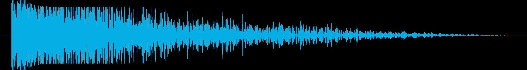 FX 大爆発06の再生済みの波形