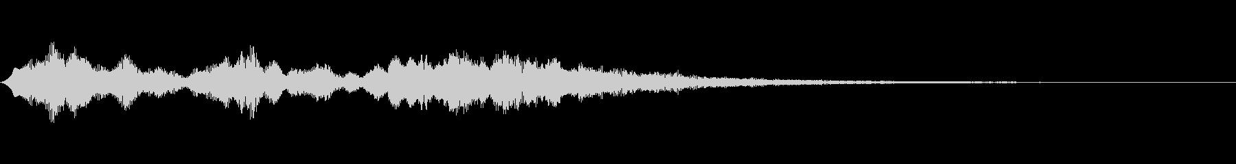 【SE 効果音】不気味な音14の未再生の波形