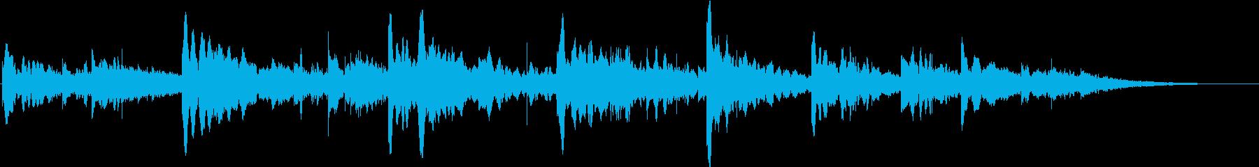 宇宙的なSF系のアンビエンスの再生済みの波形