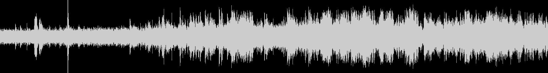 EC、列車の発車音(車内より収録)の未再生の波形