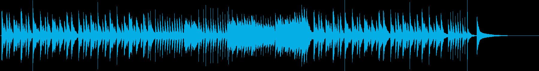 日常をイメージしたBGMの再生済みの波形