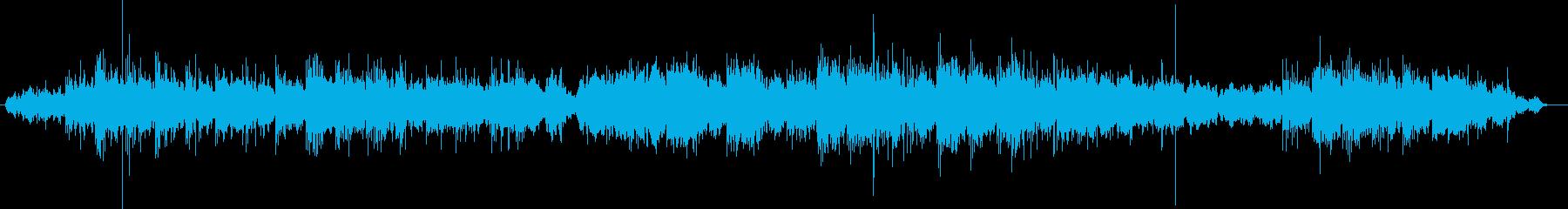 静かな雰囲気で癒されるメロディーの再生済みの波形