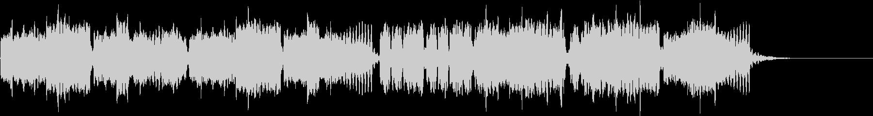 オーラ・リー ほのぼのリコーダーの未再生の波形