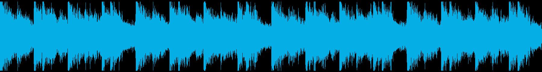 勇壮クラップ&ストンプのロック/ループの再生済みの波形